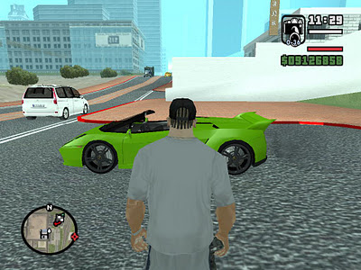 how to open car spawner gta sa