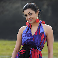 Kajal agarwal latest pics in blue