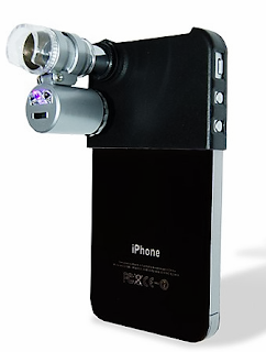 microscopio para iPhone