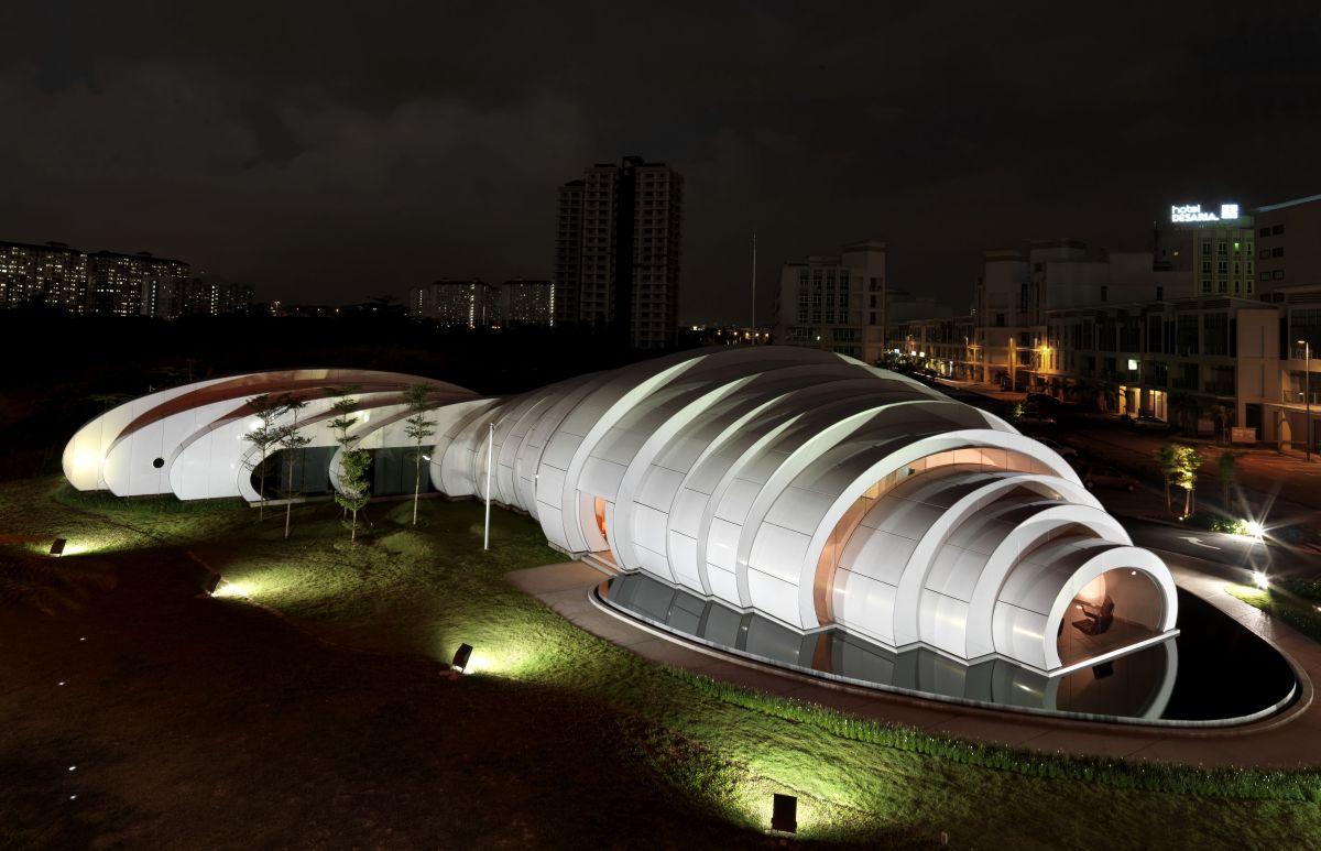 Light Architecture The Pod Pavilion Kuala Lumpur Malaysia