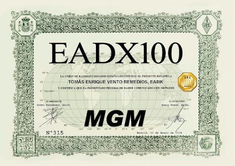 Diploma EADX100 MGM