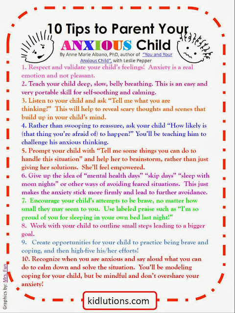How to parent your anxious child of