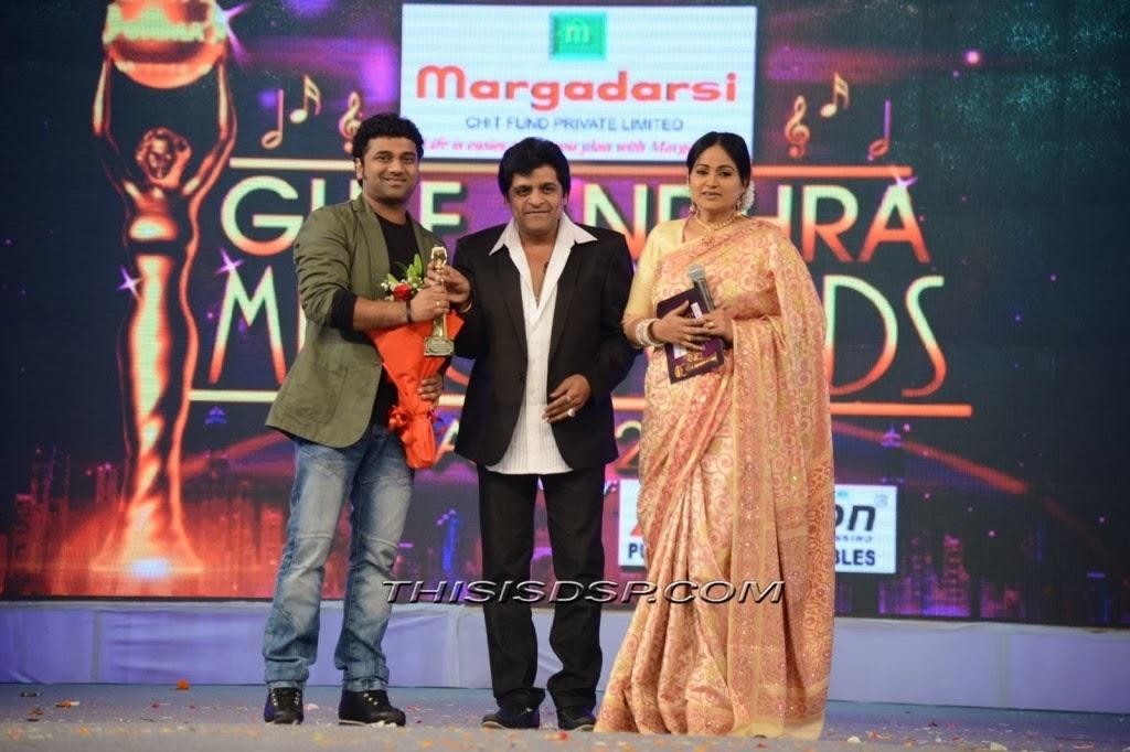 Devi Sri Prasad at Gulf Andhra Musical Awards (GAMA ) 2013