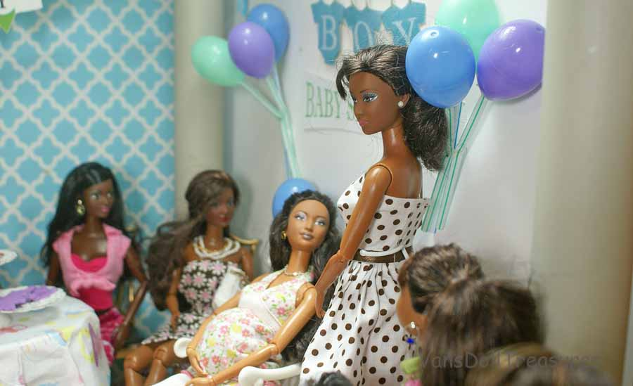 dolls at van 39 s doll treasures back to the baby shower photostory