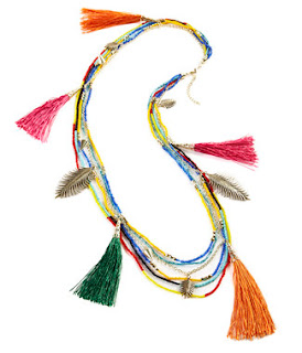 Duro Olowu jcpenney collabo - Tassel necklace - iloveankara.blogspot.co.uk