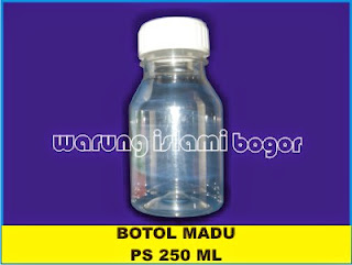 Botol PET PS 250 ml Natural