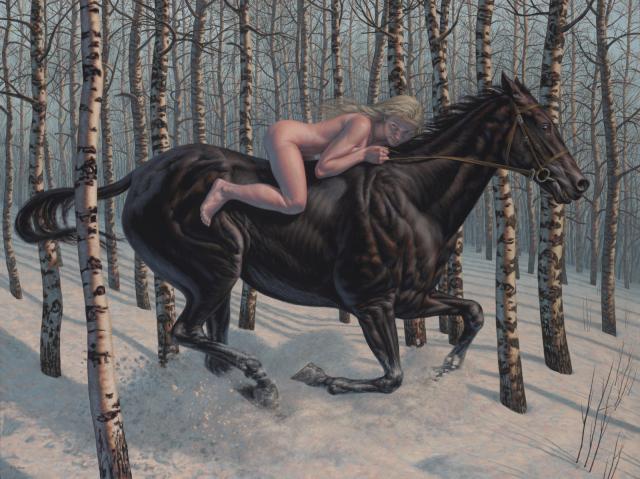F. Scott Hess painting