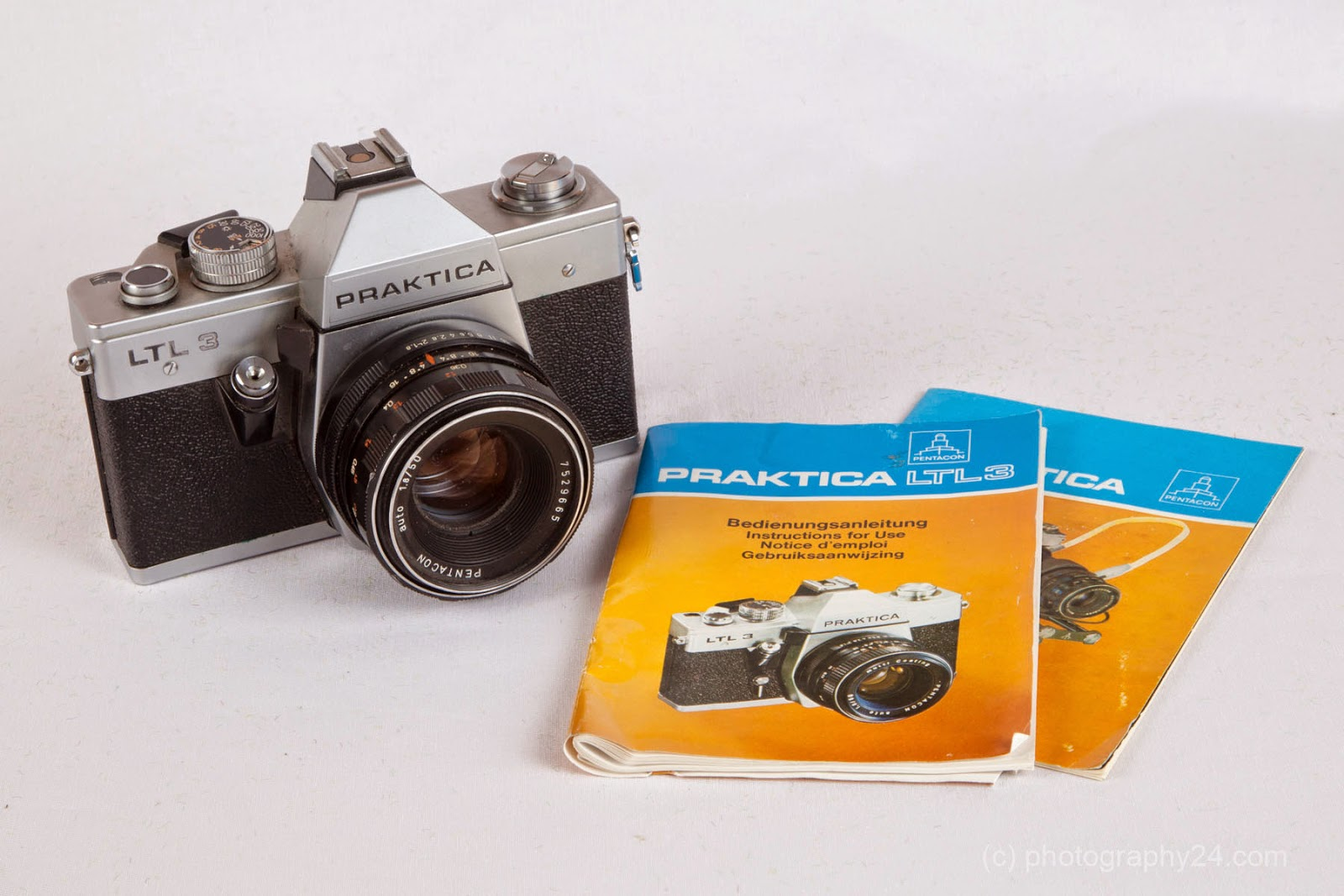 Classic panorama photography: camera collection: praktica ltl3