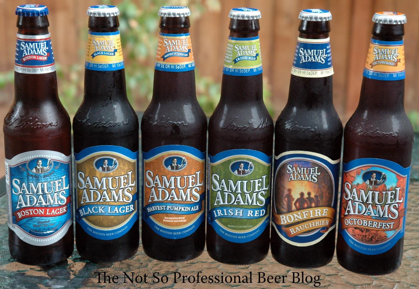 The Not So Professional Beer Blog: Beer Run: Samuel Adams Harvest ...