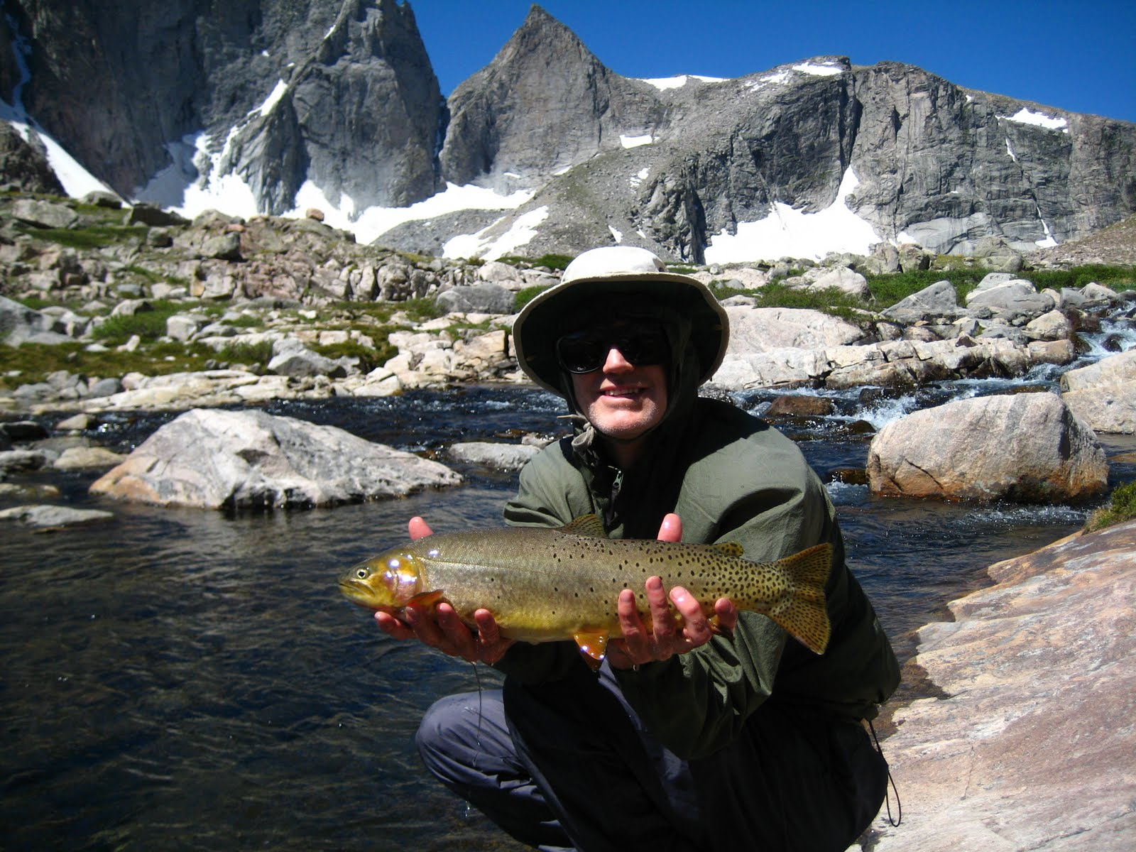 Colorado fly fishing blog wind river range 2010 for Fishing in the wind