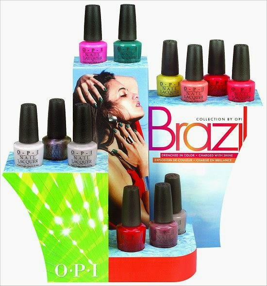 OPI Brazil, OPI Cranaval of Color, OPI Brazil Collection, OPI Spring 2014 Review, OPI Brazil Swatches