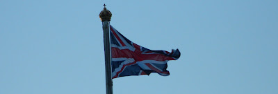 union jack, buckingham palace, november 2012
