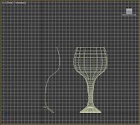 Formar copa a partir de una línea.