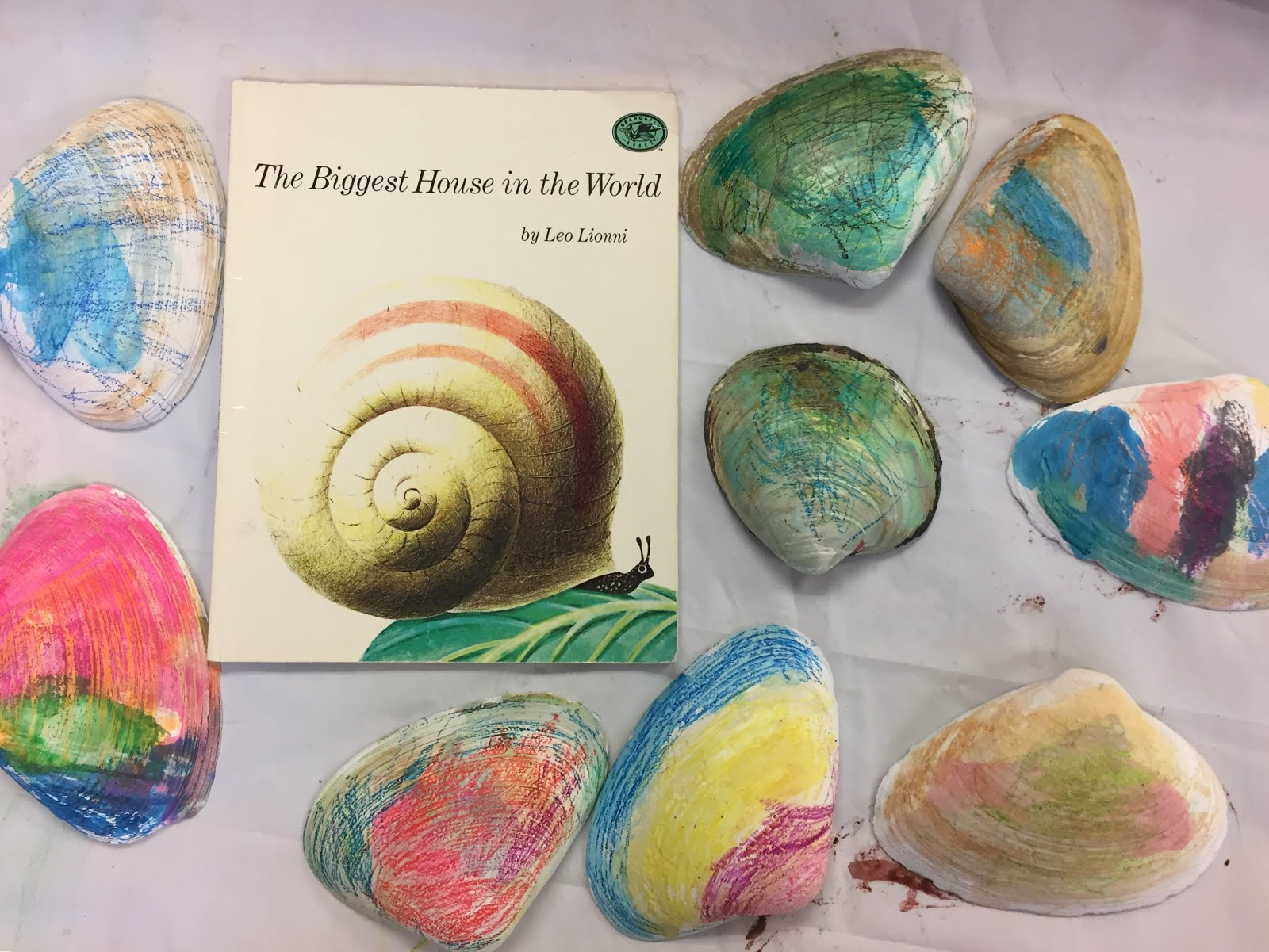 Painting Clam Shells