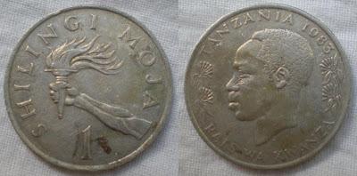 tanzania 1 shilingi 1983