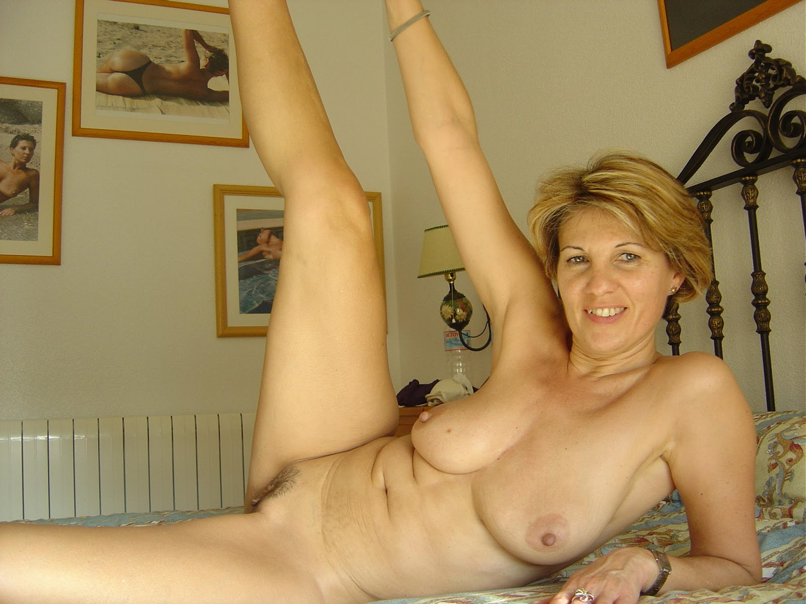 Spanish blonde nude long time