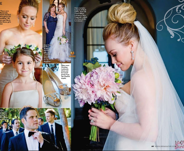 One Of My Favorite Celebrity Weddings Hillary Duff And Mike Comrie