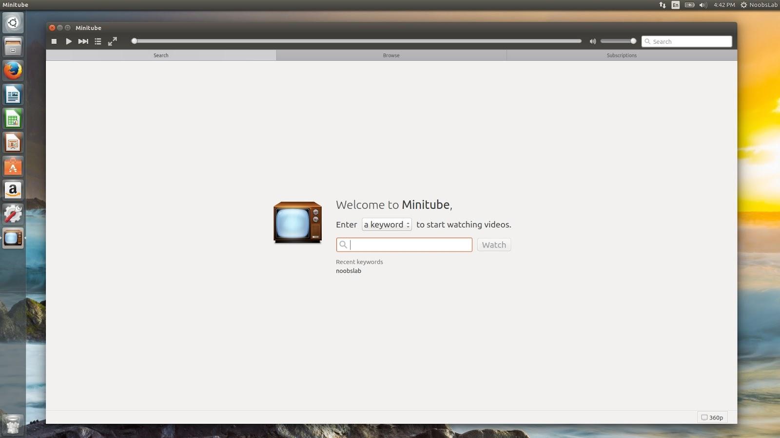 Latest MiniTube 2.5.2 Version Available for Ubuntu/Linux ...