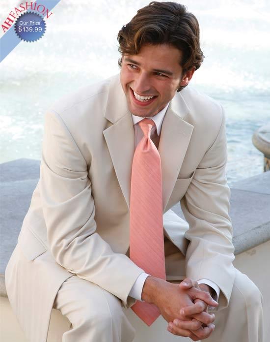Tan Wedding Suit
