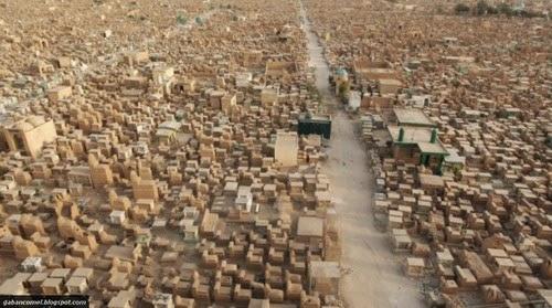Aneh Inilah Tanah Perkuburan Terbesar di Dunia
