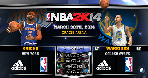 NBA 2K14 Roster Update 3/30/14