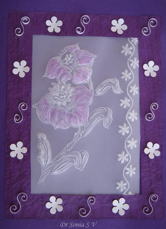 Cards Crafts Kids Projects Parchment Card And Honey