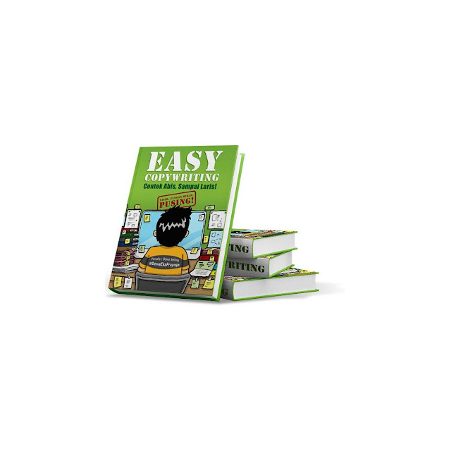 Cover Buku Easy Copywriting dari Dewa Eka Prayoga