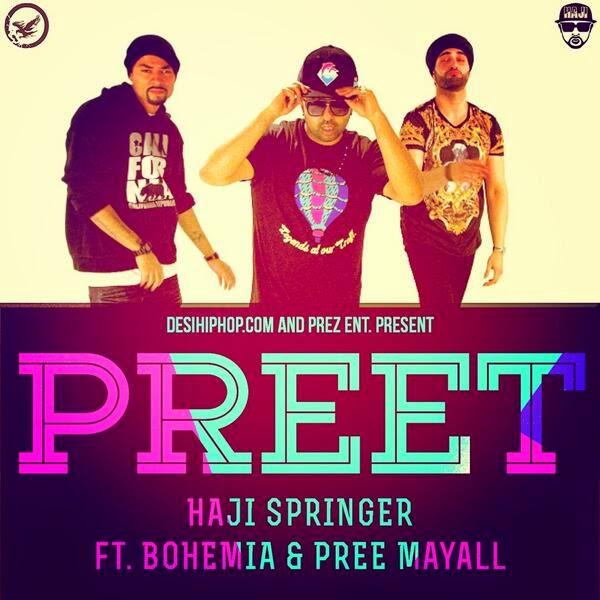 PREET - Haji Springer ft Bohemia & Pree Mayall (Trailer) - Desi Hip Hop