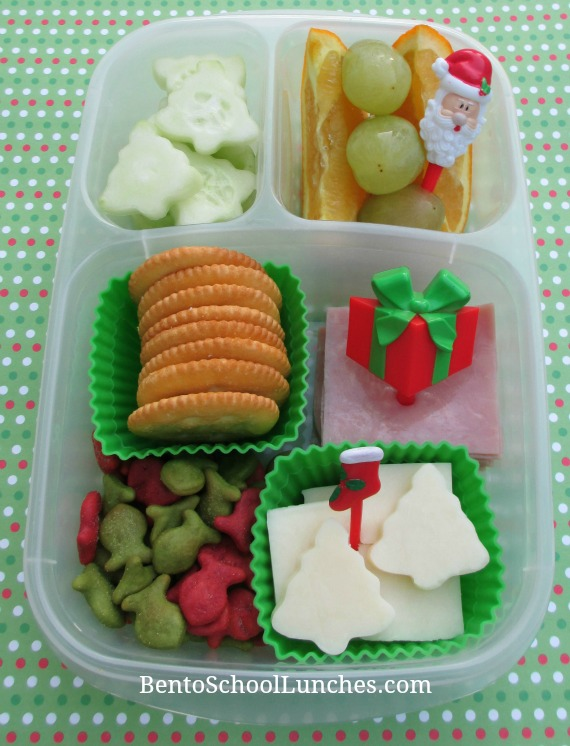 DIY Christmas Lunchables