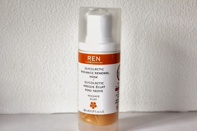 Review - REN Glycolactic Radiance Renewal Mask