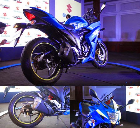 gambar motor fairing Suzuki 2015