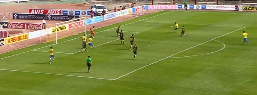 2-1 Gol de Nauzet a pase de Araujo