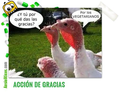 Chiste de Acción de Gracias: Pavos