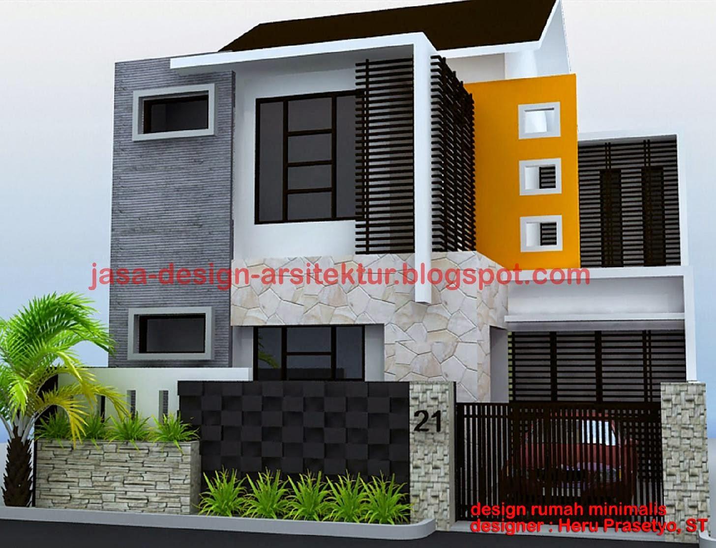 desain rumah minimalis modern terbaru 2015Kelstudio