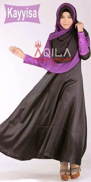 10 Model Baju Muslim Syari Terbaru Dengan Desain Modern
