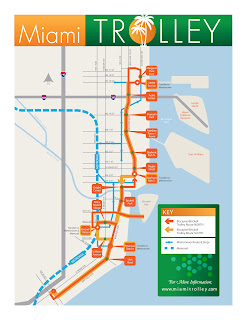 miami trolley brickell stops routes map
