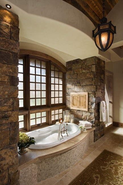 mountain house bathroom decor bathtubs bathrooms