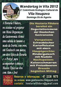 WANDERTAG IN VILA 2012 - 3° Caminhada Ecologica Cultural da Vila Itoupava