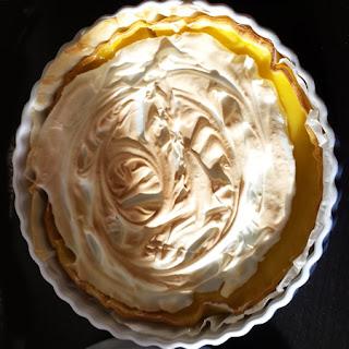 Une tarte au citron meringuée délicieuse