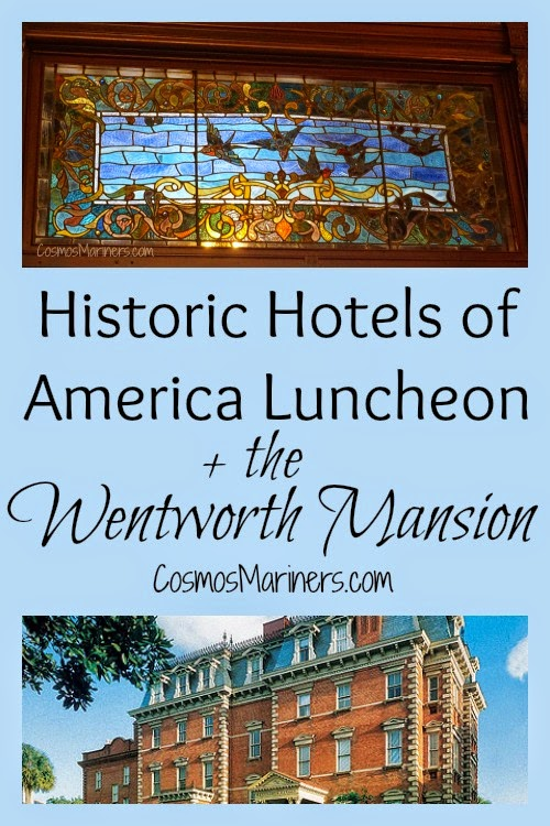 Historic Hotels of America Luncheon, Wentworth Mansion, Charleston | CosmosMariners.com
