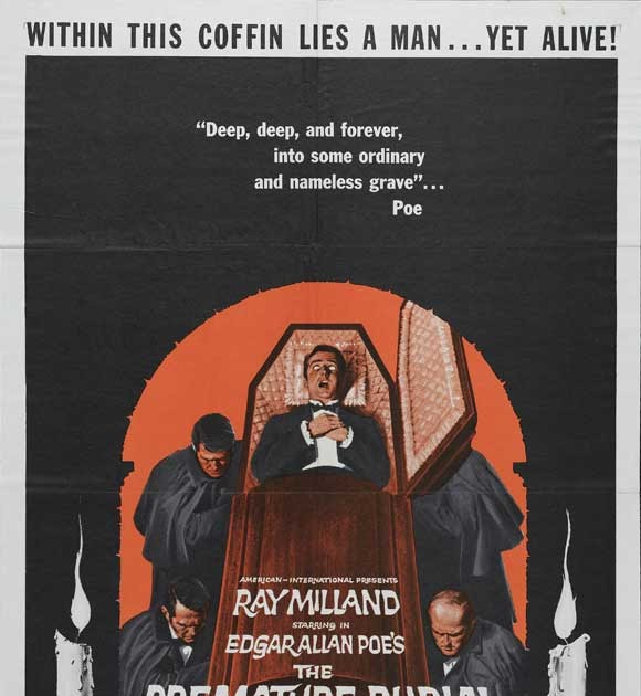 the premature burial Get this from a library the premature burial [roger corman charles beaumont ray russell hazel court ray milland ronald stein joe dante edgar allan poe.