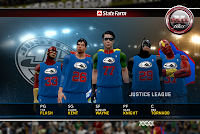 NBA 2K12 Justice League Vs The Avengers V4 Mod DC