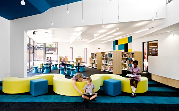 Modern Classroom Seating ~ Teach children well classroom design