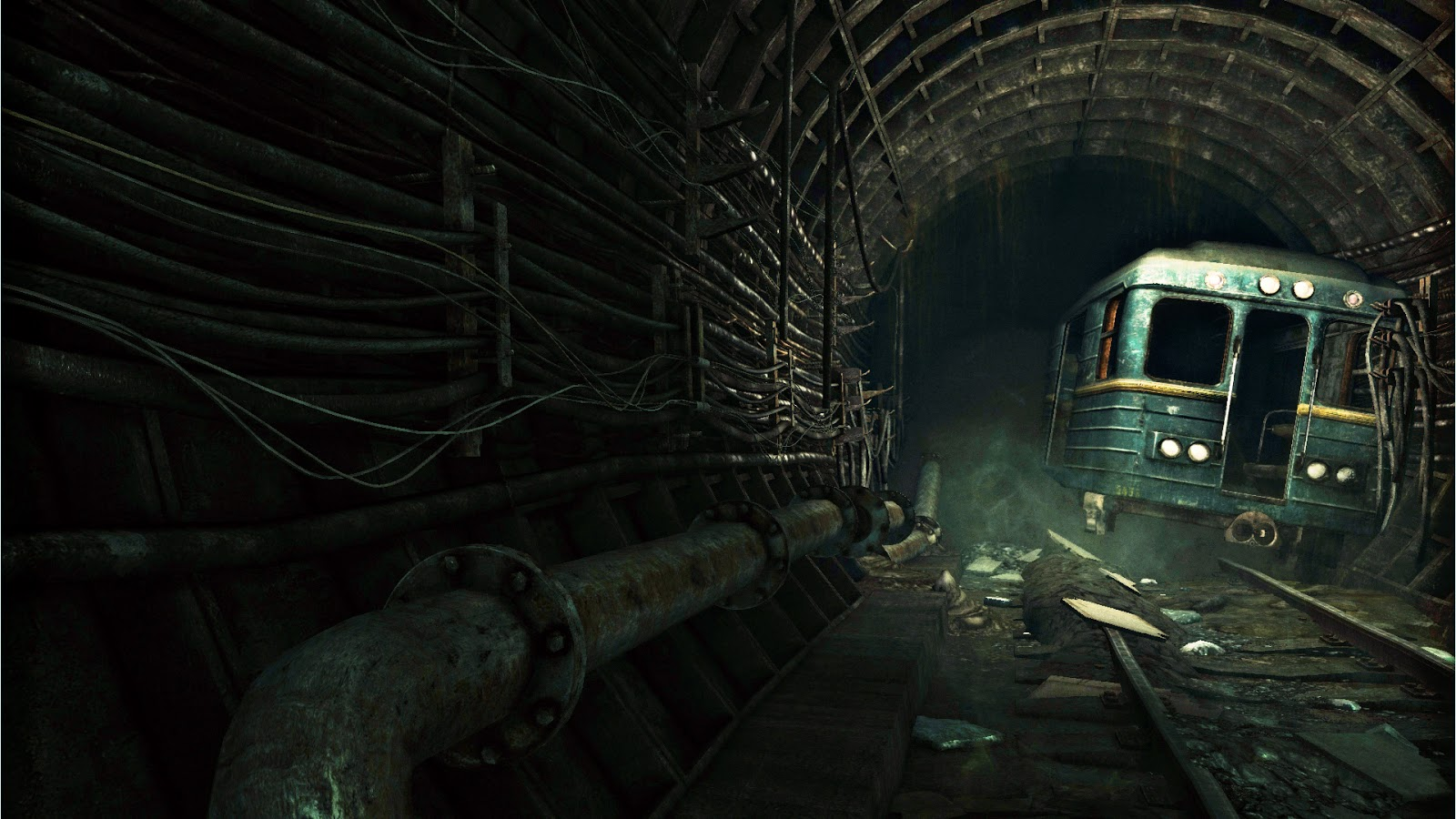 2nd Project Underground Subway Rundown Environment