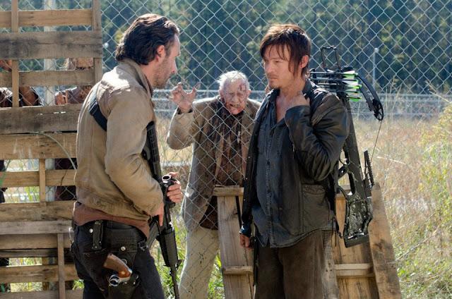 Daryl y Rick 3x15 The Walking Dead