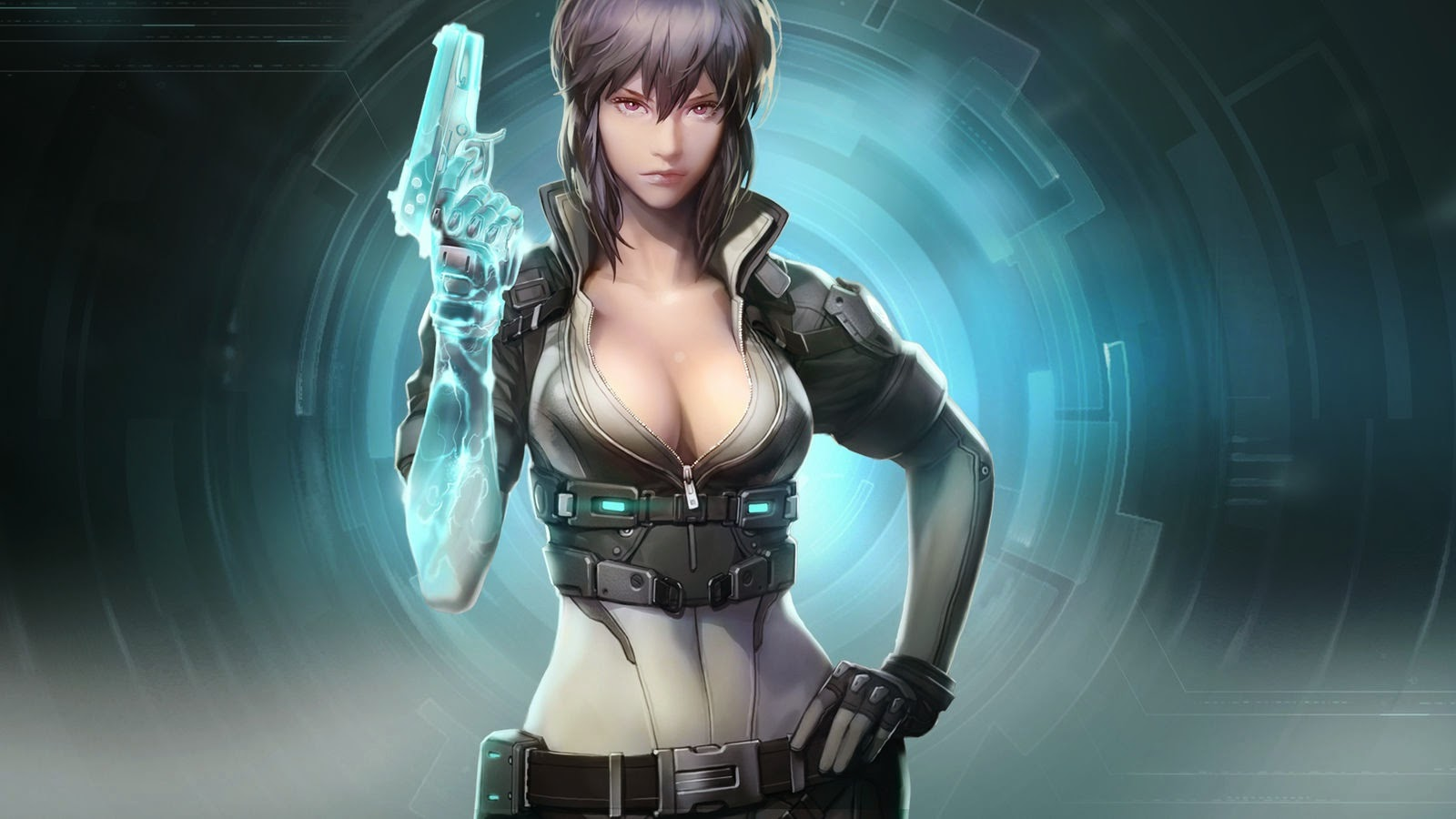 GHOST IN THE SHELL (2017) ... SCARLETT JOHANSSON Takes Anime To A Whole HOTTER Level!!!