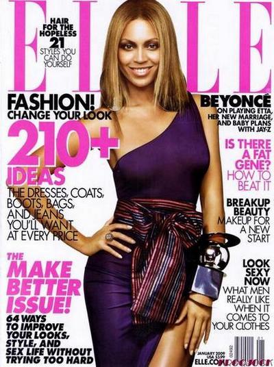 Geeks Fashion Beyonce Knowles Magazine Covers