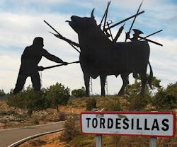 TORDESILLAS TORTURA TOROS.