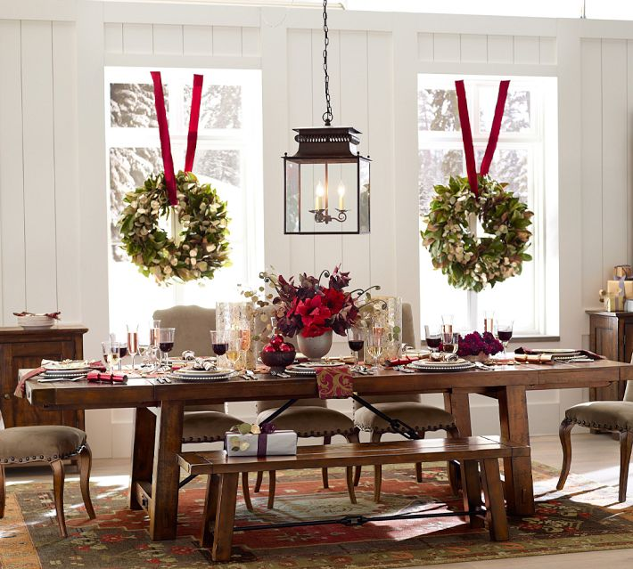 Christmas at pottery barn interior heaven for Deco noel maison de campagne