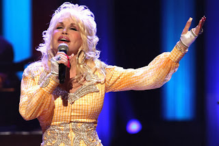Dolly parton car crash